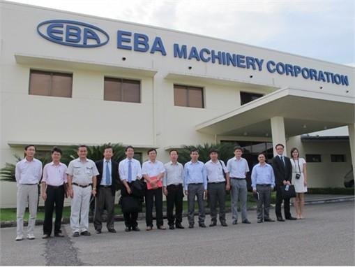 Thăm và làm việc với công ty tại khu công nghiệp Nomura, Hải Phòng