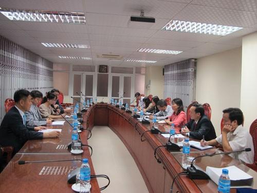Tiếp đoàn cán bộ trường Đại học Kijeon (Hàn Quốc)