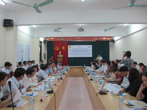 """Hội thảo giới thiệu Dự án """"Tăng cường năng lực đào tạo giáo viên kỹ thuật dạy nghề"""""""