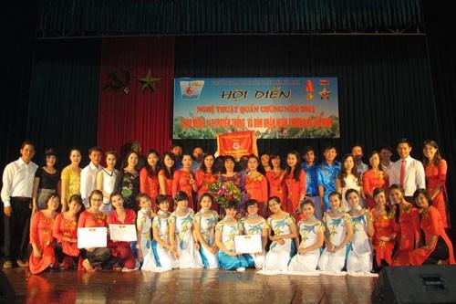 Chung khảo Hội diễn nghệ thuật quần chúng năm 2013