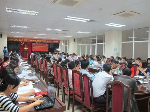 Khoa Kế toán kiểm toán tổ chức hội thảo khoa học