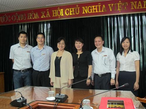 Trưởng phòng HTQT trường Đại học Khoa học ứng dụng Quốc gia Cao Hùng (Đài Loan) thăm trường