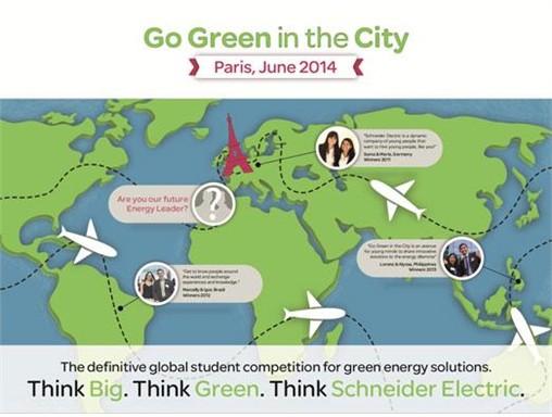 """Thông báo về buổi giới thiệu cuộc thi """"Go Green in the City"""" và các cơ hội thực tập, việc làm của công ty TNHH Schneider Electric Việt Nam"""