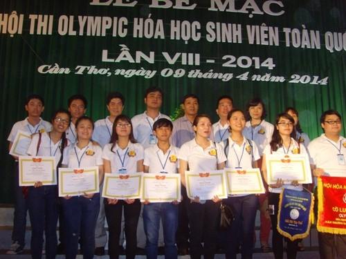 Hội thi Olympic Hóa học sinh viên toàn quốc lần thứ VIII năm 2014