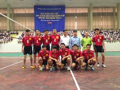 Giải bóng chuyền công nhân viên chức, lao động và lực lượng vũ trang quận Bắc Từ Liêm