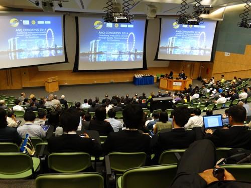 Đoàn công tác nhà trường tham dự Hội nghị của Hiệp hội chất lượng Châu Á tại Singapore