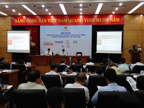 Hội nghị phổ biến Chiến lược và Quy hoạch phát triển ngành Công nghiệp ô tô Việt Nam