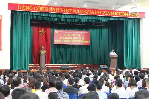 Học tập, quán triệt và triển khai thực hiện Nghị quyết Hội nghị lần thứ 9 BCH Trung ương Đảng Khóa XI