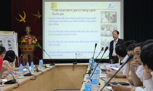 Hội thảo giới thiệu khoá đào tạo bồi dưỡng giáo viên kỹ thuật dạy nghề