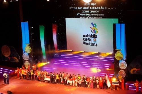 Đại học Công nghiệp Hà Nội đóng góp 01 huy chương Vàng cho đoàn thi tay nghề ASEAN