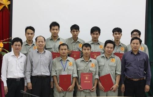Bế giảng khóa đào tạo ngắn hạn cho Công ty Y-TEC Việt Nam