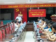 Gặp mặt Đoàn tham dự Cuộc thi Sáng tạo Robot Việt Nam 2015