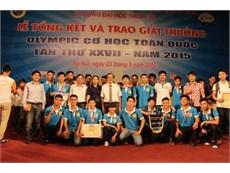 Trao giải thưởng Olympic Cơ học toàn quốc lần thứ 27