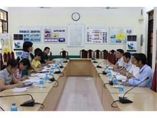 Tiếp và làm việc với đoàn cán bộ Trung tâm Y tế dự phòng Hà Nội và quận Bắc Từ Liêm