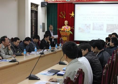 Khai giảng khóa đào tạo bồi dưỡng giáo viên kỹ thuật dạy nghề đợt 2