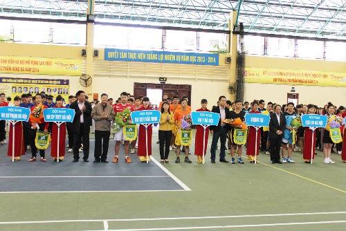 Khai mạc Giải vô địch Bóng ném Sinh viên Hà Nội mở rộng lần 1 năm 2014 - Cup Văn phòng phẩm Hồng Hà