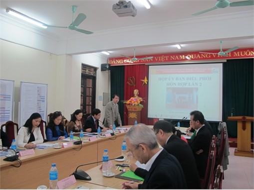 Họp Ủy ban điều phối hỗn hợp Dự án HaUI - JICA lần 2