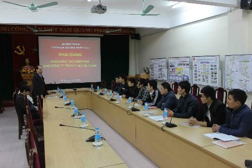 Đào tạo ngắn hạn cho công ty TNHH Y-TEC Việt Nam