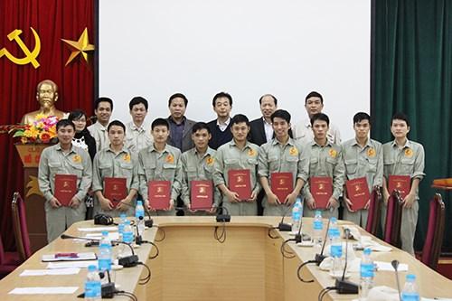 Bế giảng khoá đào tạo ngắn hạn lần thứ hai dành cho Công ty Y-TEC Việt Nam