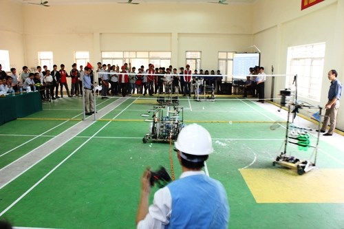 Sáu đội tuyển robot sẽ tham dự vòng loại khu vực phía Bắc