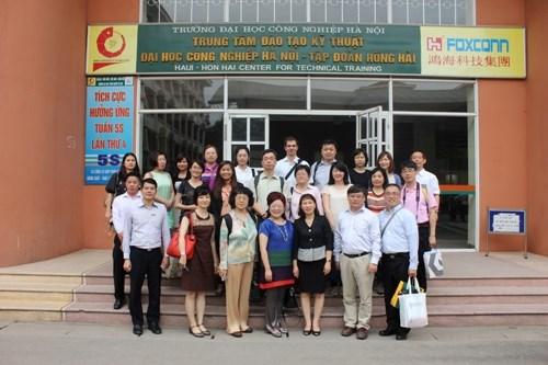 Chuyến thăm quan của đoàn đại biểu các đơn vị giáo dục Đài Loan
