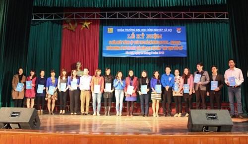 Kỷ niệm 84 năm Ngày thành lập Đoàn TNCS Hồ Chí Minh: Tuyên dương Bí thư Chi đoàn giỏi 2015 và tọa đàm Khát vọng tuổi trẻ