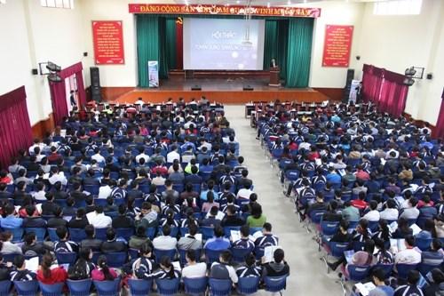 Samsung Việt Nam trực tiếp tuyển dụng tại trường