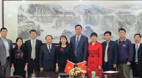 Hợp tác đào tạo trao đổi sinh viên với trường Đại học Khoa học kỹ thuật Quảng Tây