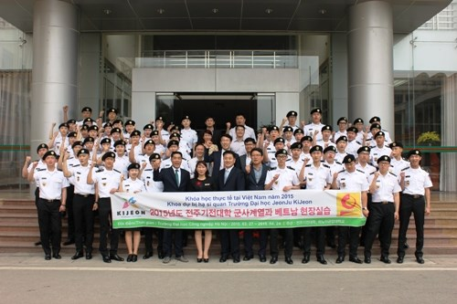 Khai mạc Chương trình giao lưu với SV Đại học Kijeon