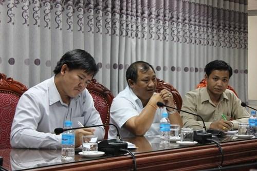 Hiệu trưởng trường Cao đẳng Kỹ thuật - Dạy nghề Hữu nghị Vientiane - Hà Nội sang thăm và làm việc