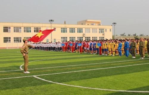 Khai mạc Hội thao các môn thể thao quốc phòng phối hợp năm 2015