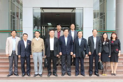 Đoàn công tác Ban Tuyên giáo Trung ương tới thăm và làm việc