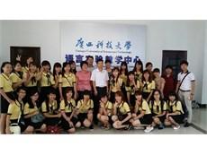 24 sinh viên Nhà trường học tập tại trường ĐH KHKT Quảng Tây