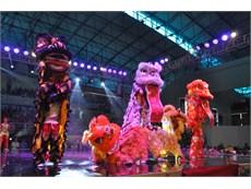 """Đội văn nghệ, aerobic, võ thuật tham gia """"Ngày hội đoàn kết"""" của tập đoàn KHKT Hồng Hải"""