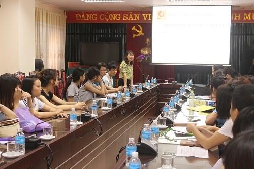 Gặp mặt sinh viên thuộc chương trình trao đổi sinh viên giữa HaUI và trường Đại học Khoa học Kỹ thuật Quảng Tây