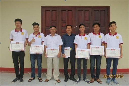 Đại học Công nghiệp Hà Nội đạt giải Nhì toàn đoàn tại cuộc thi OLYMPIC VẬT LÝ SINH VIÊN TOÀN QUỐC 2015