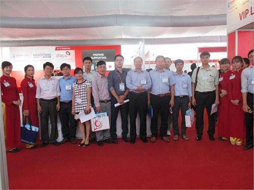 Trường Đại học Công nghiệp Hà Nội tham gia Triển lãm Công nghiệp hỗ trợ Việt Nam-Nhật Bản lần thứ 6