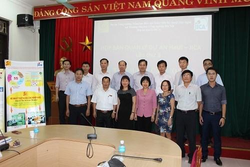 Họp Ban Quản lý dự án HaUI - JICA lần thứ 8