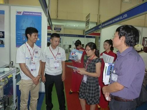 Dự án HaUI-JICA tham gia Triển lãm Công nghiệp hỗ trợ Việt Nam-Nhật Bản lần thứ 6 tại Hà Nội