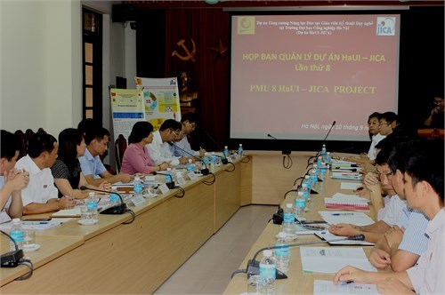 8 th Meeting of HaUI - JICA Project Management Unit (PMU8)