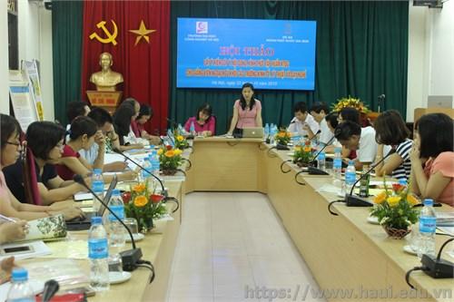 Hội thảo lấy ý kiến góp ý nội dung, hình thức tập huấn kiểm tra đánh giá cho giảng viên ngoại ngữ khối các trường kinh tế, kỹ thuật và dạy nghề