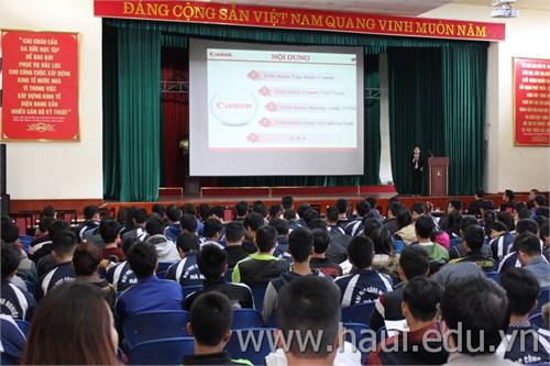 Hội thảo cơ hội việc làm của công ty Canon Việt Nam