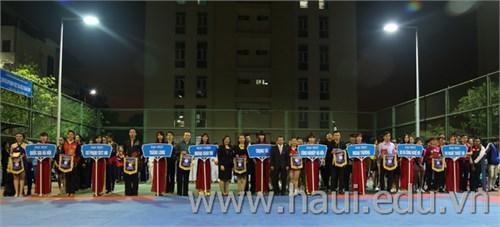 Giải Khiêu vũ thể thao-Aerobic các trường Đại học, Cao đẳng và học viện khu vựng Hà Nội năm 2015