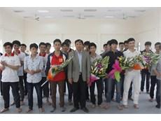 Trường Đại học Công nghiệp Hà Nội tổ chức Cuộc thi Sáng tạo Robot cấp trường năm 2016