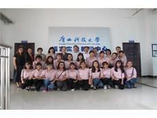 19 sinh viên Nhà trường học tập tại trường ĐH KHKT Quảng Tây