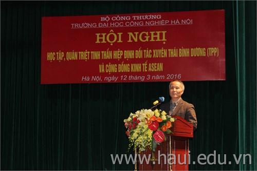Hội nghị học tập, quán triệt tinh thần Hiệp định đối tác kinh tế chiến lược xuyên Thái Bình Dương (TPP) và Cộng đồng kinh tế ASEAN