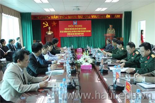 Hội nghị triển khai thực hiện liên kết Giáo dục Quốc phòng và An ninh với các trường Đại học, Cao đẳng