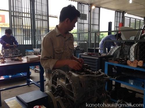 SV khoa Công nghệ ô tô Trường ĐHCNHN đạt giải nhất kỹ năng nghề công nghệ ô tô thành phố Hà Nội năm 2016