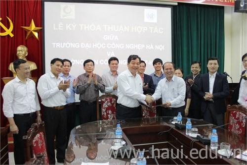 Lễ ký kết thoả thuận hợp tác giữa Trường Đại học Công nghiệp Hà Nội và Trường Cao đẳng nghề Công nghệ Việt – Hàn