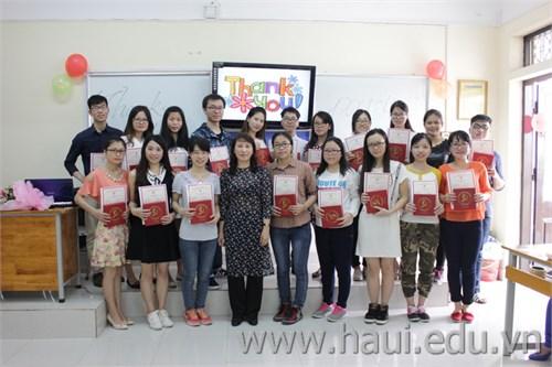 Tổng kết chương trình trao đổi sinh viên với trường Đại học Khoa học kỹ thuật Quảng Tây